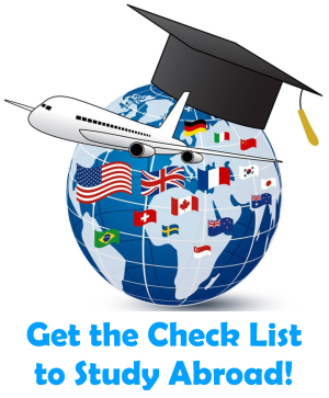 Get the Amazing Check List to Study Abroad