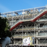 Centre George Pompidou Paris Parvis